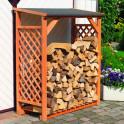 Dekoratives Feuerholzlager Romantica Wood