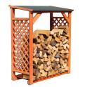 Kaminholzregal Romantica Wood aus Kiefernholz