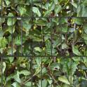 Sichtschutzstreifen Motiv Kirschlorbeer   textiles PES