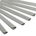 PVC-Klemmen-18,5 cm-lichtgrau-12 Stk