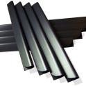 Klemmschienen für Weich-PVC Sichtschutzstreifen
