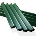 Zaunstreifen Thuja Hecke Inklusive M-tec technology Klemmschienen in grün