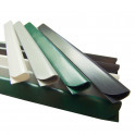 PVC Design Streifen Motiv Linienstern mit Klemmschienen