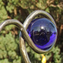 Windspiel Typ Große-Kugel- violett