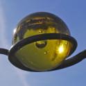 Windspiel Typ Große-Kugel-gelb