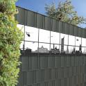 Leipziger Silhouette für den Sichtschutzzaun