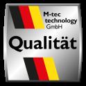 Hart - PVC steingrau - M-tec technology Qualität Made in Germany