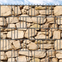 M-tec print® bedruckte Sandstein Ibiza