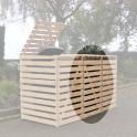 Mülltonnencontainer Erweiterung - natur