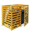 Mülltonnenbox für 2 Tonnen bis 240 Liter