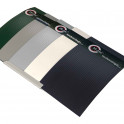 Musterprobe Hart-PVC in 5 Farbvarianten