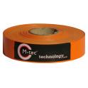 M-tec Profi-line ® Sichtschutz Streifen orange L=65m H=5cm