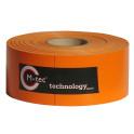 M-tec Profi-line ® Sichtschutz Streifen orange L=65m H=9,5cm