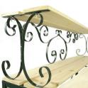Detail Pflanztisch - Hampton - mit Eisengestell