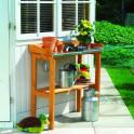 Gärtnertischtisch mit verzinkter Arbeitsfläche