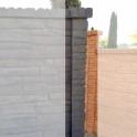 Betonzaunsystem Pfosten Rockstone