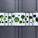 Dekorativer Hart-PVC Streifen mit Lochmuster - Points