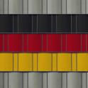 PVC Sichtschutz in den Farben schwarz | rot | gelb