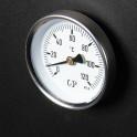 Thermometer zur Kontrolle der Rauchtemperatur