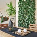 Rankhecke mit Weidegitter als Wohnraum Dekoration