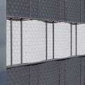 Sichtschutz Rattan - Detail