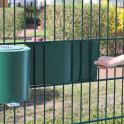 Einflechten von Kunststoffstreifen mit Abrollhilfe
