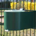 Profi - Abrollhilfe mit PVC Sichtschutzrolle