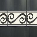 Weich PVC Streifen mit Motiv Rom
