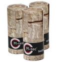 M-tec print® bedruckte Zaunstreifen Sandsteinmauer-9er Pack