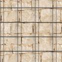 Muster Sandsteinmauer über drei Streifen fortlaufend
