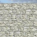 Bedruckte PVC  Sichtschutzstreifen Motiv Sandstein Toscana