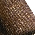 Schattiergewebe - 100% blickdicht-braun-1,00 x 10,00 m