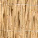 Schilfmatte ohne Rahmen / Sichtschutz Detail