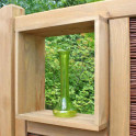 Weidengeflecht Zaun System | SHELF 3-D Fenster