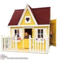 Kinderspielhaus groß - Farbbeispiel Gelb
