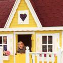Kinderspielhaus Detail Farbbeispiel
