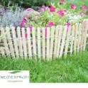 Staketen Beeteinfassung Gartenbild