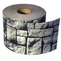 Sichtschutzstreifen Motiv Steinlabyrinth - 26lfm Rolle