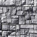 Sichtschutzstreifen Motiv Steinlabyrinth - Detail