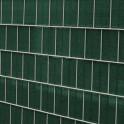 Sichtschutzstreifen winddurchlässig 0,19x70 m moosgrün als Sichtschutzzaun