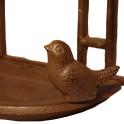 Vogelfutterhaus Gusseisen Detail - Vogel