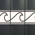 Dekor Sichtschutzstreifen - M-tec Wave