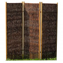 Weiden-Paravent exclusiv  3-teilig