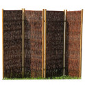 Weiden-Paravent exclusiv   4-teilig