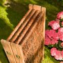 Garten Weiden - Paravent platzsparend  geklappt