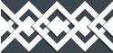 PVC Design Streifen Motiv Karo - Tape-anthrazit - weiß-3er Pack