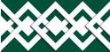 PVC Design Streifen Motiv Karo - Tape-moosgrün - weiß-9er Pack