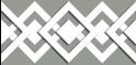 M-tec design Motiv Karo-Tape steingrau - weiß