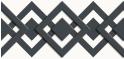 PVC Design Streifen Motiv Karo - Tape-weiß - anthrazit-3er Pack
