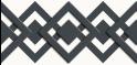 M-tec design Motiv Karo-Tape weiß - anthrazit
